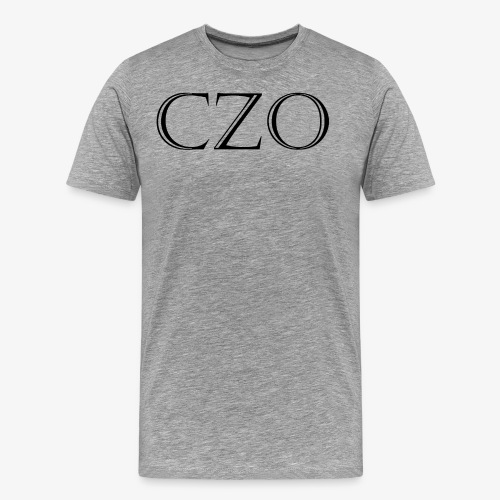 CoverZero CZO StoneScript - Men's Premium T-Shirt