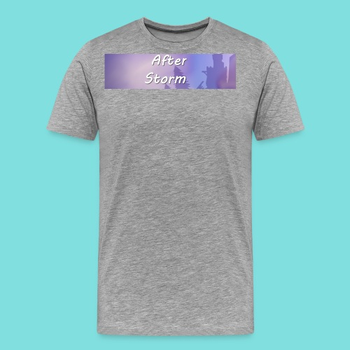 After Storm LOGO 2 - Men's Premium T-Shirt