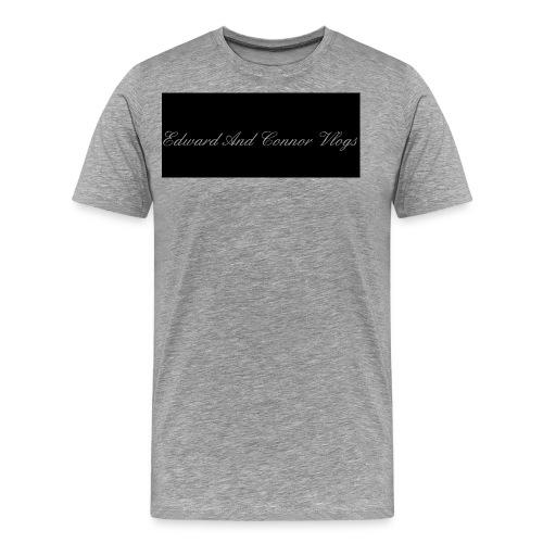 Edward and connor vlogs - Men's Premium T-Shirt