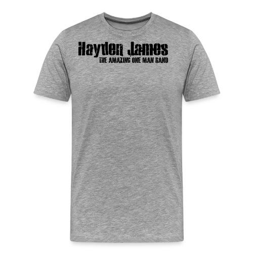 HJ Trans Logo Black 2018 - Men's Premium T-Shirt