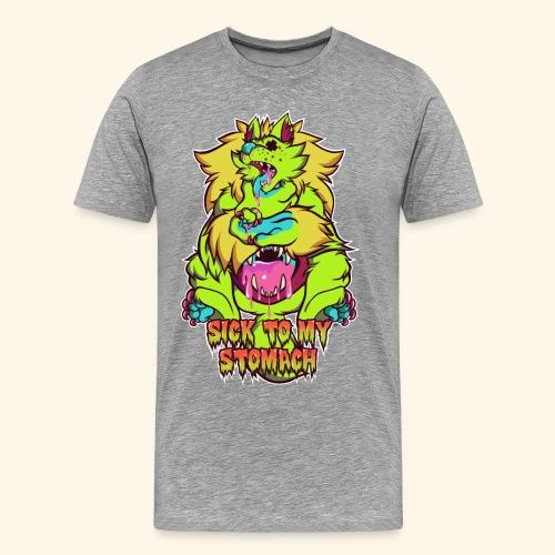 - Sick To My Stomach - - Men's Premium T-Shirt