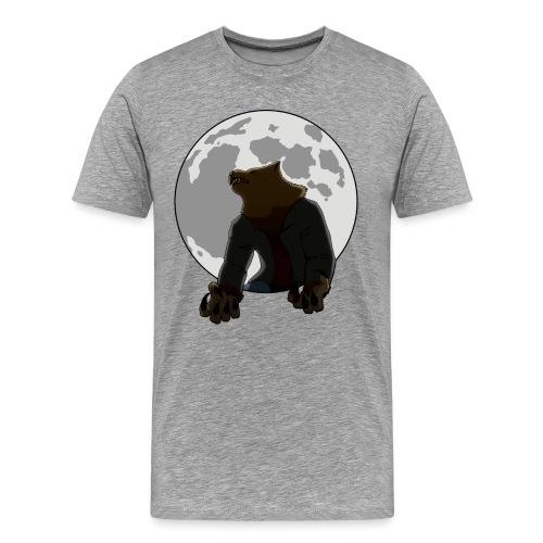 Howling Lupus - Men's Premium T-Shirt