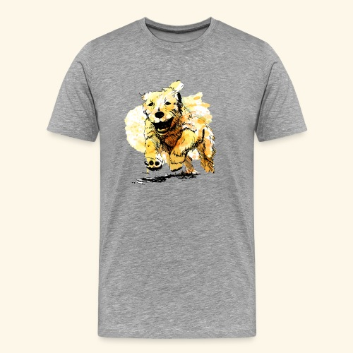 oil dog - Men's Premium T-Shirt