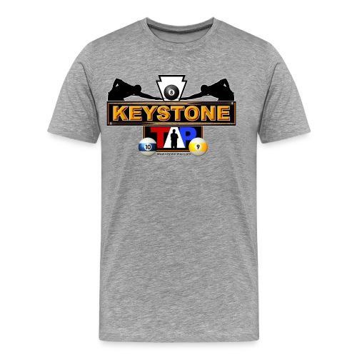 Keystone Tap Logo - Men's Premium T-Shirt