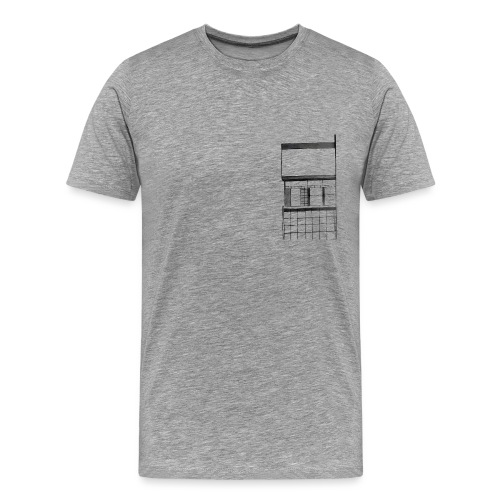 building gif - Men's Premium T-Shirt