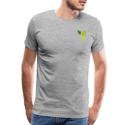 Dom Gooden Leaf Logo - Men's Premium T-Shirt