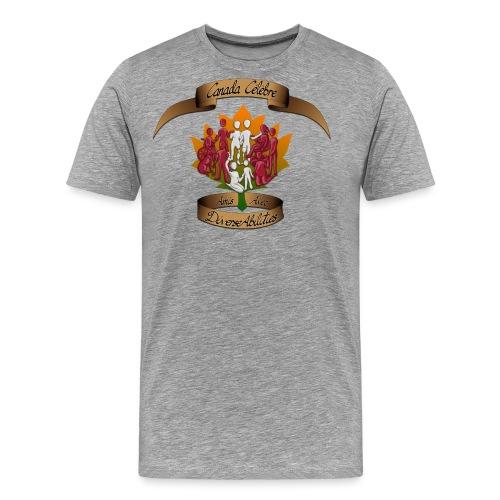 Friends With DiverseAbilities - Canada Celebre - Men's Premium T-Shirt