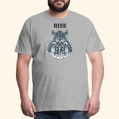 RISE CELTIC WARRIOR - Men's Premium T-Shirt