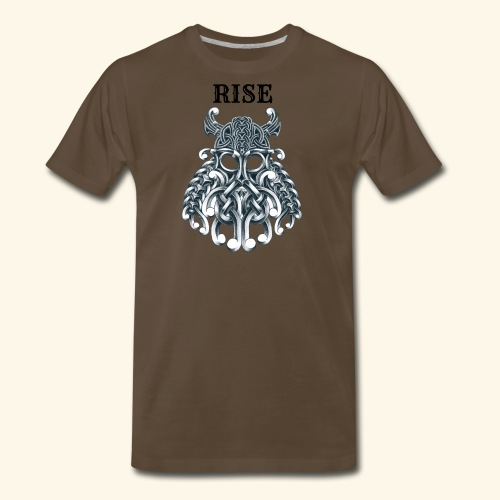 RISE CELTIC WARRIOR - Men's Premium T-Shirt
