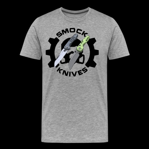 Smock Knives Large Blades Logo - Men's Premium T-Shirt