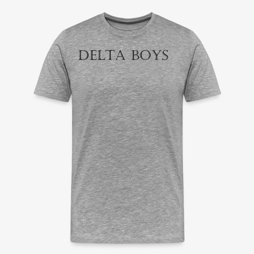 DeltaBoys Stonescript - Men's Premium T-Shirt