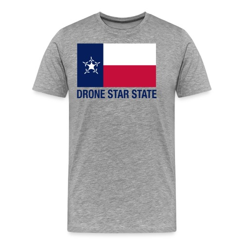 Drone Star State - Long Sleeve - Men's Premium T-Shirt