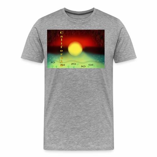 Sunset By Sea, California Product - Men's Premium T-Shirt
