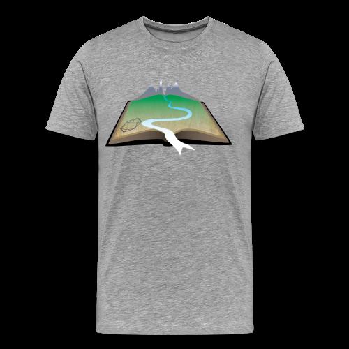 ANU Roleplaying Society Logo T-Shirt - Men's Premium T-Shirt