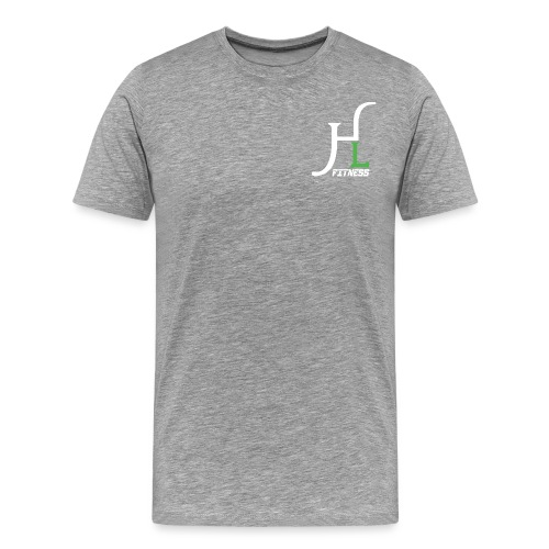 HIIT Life Fitness Logo White - Men's Premium T-Shirt