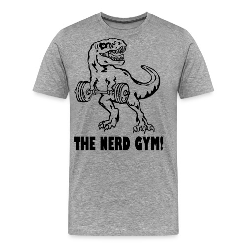 The Nerd Gym - Max Rex - Men's Premium T-Shirt