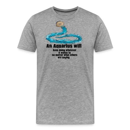 Aquarius - Men's Premium T-Shirt