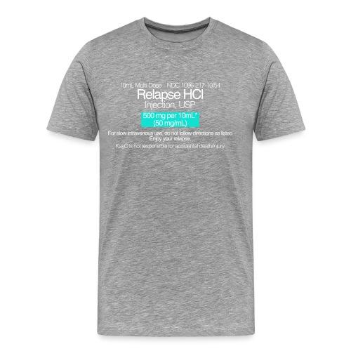 Relapse // WHITE - Men's Premium T-Shirt