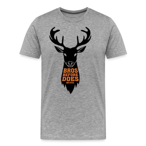 Bros before does - Men's Premium T-Shirt