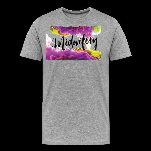 MIC Color Cloud Transparent - Men's Premium T-Shirt