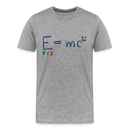 Rubik's Cube Formula Theory Of Relativity - Men's Premium T-Shirt