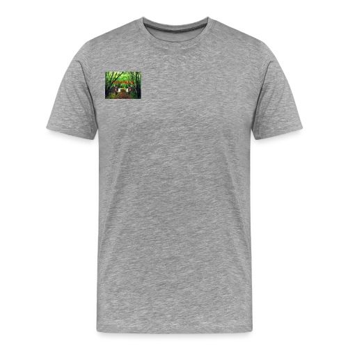 MOOSEMILK to high - Men's Premium T-Shirt