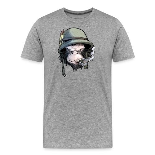 PRIMATE FALLS - FACE - Men's Premium T-Shirt