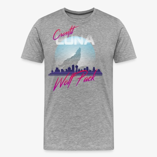 80s Wolfpack - Men's Premium T-Shirt