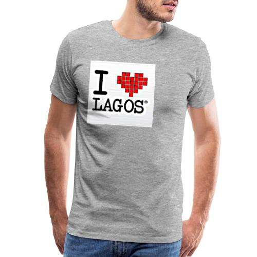 I LOVE LAGOS - Men's Premium T-Shirt