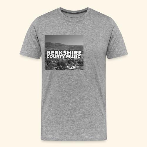 Berkshire County Music Black/White - Men's Premium T-Shirt