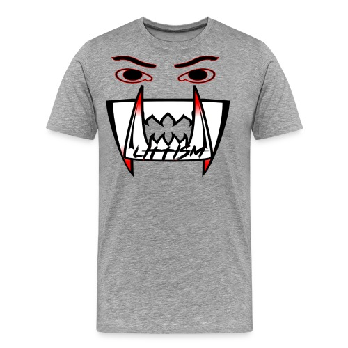 Littism Vampire Glory Face - Men's Premium T-Shirt