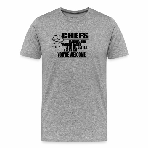 CHEF - Men's Premium T-Shirt