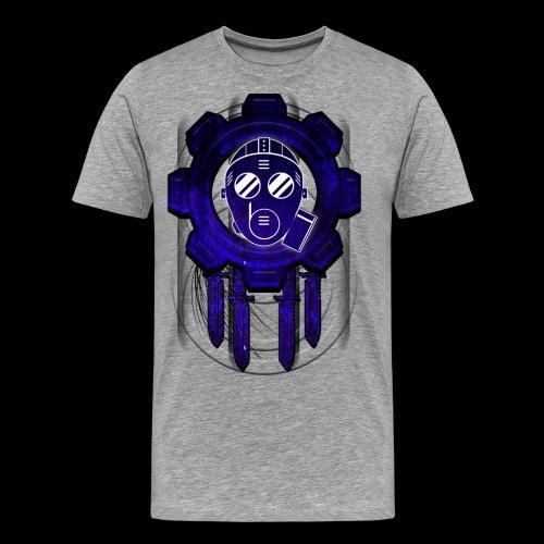 Rubberman Gear blue - Men's Premium T-Shirt