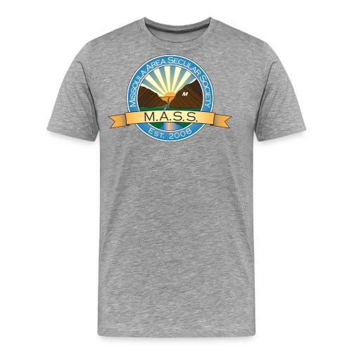 Missoula Area Secular Society Logo - Men's Premium T-Shirt