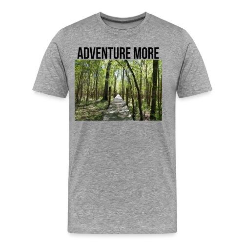 adventure more - Men's Premium T-Shirt