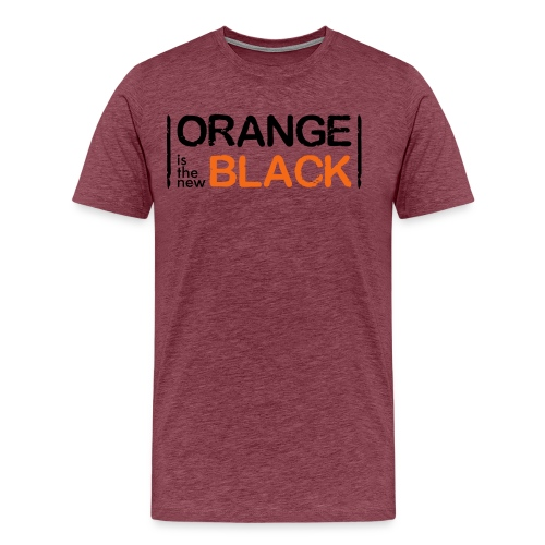 Free Piper Orange is the New Black - Men's Premium T-Shirt