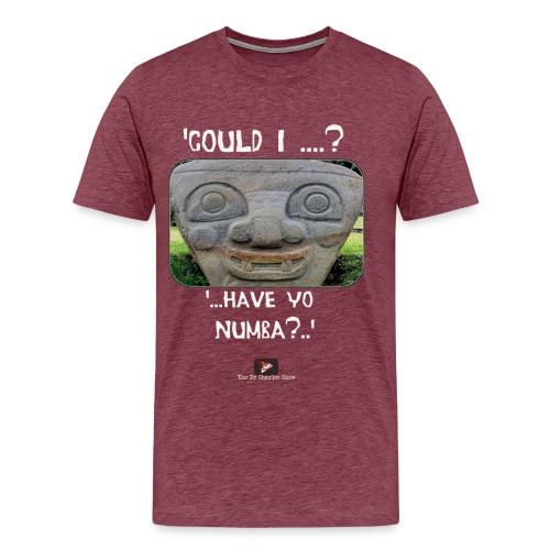 Alien Could I have your Number - Men's Premium T-Shirt