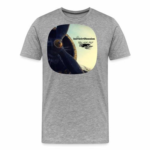 "InovativObsesion ""PROP TURNER"" apparel - Men's Premium T-Shirt"