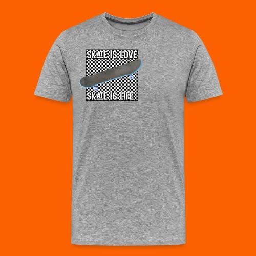 SK8 is Love - Men's Premium T-Shirt