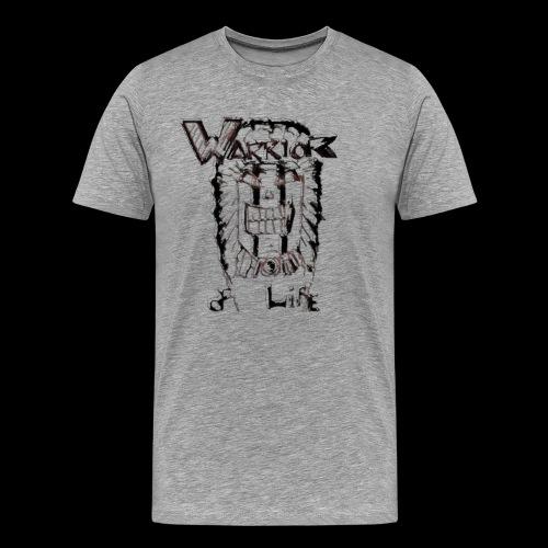 Warrior of Life - Men's Premium T-Shirt