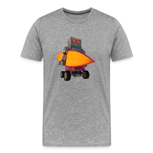 SURF, MACHINE - Men's Premium T-Shirt