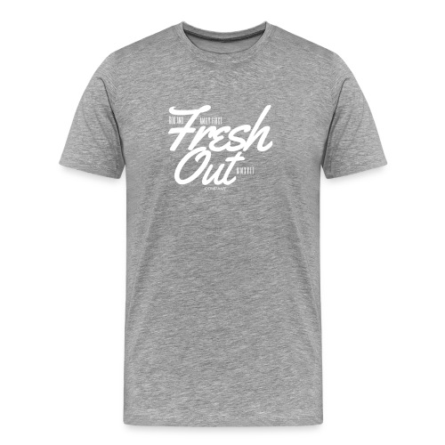 Fresh Out Beats Logo 24 - Men's Premium T-Shirt