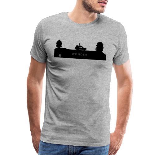 Wonder Logo Black - Men's Premium T-Shirt
