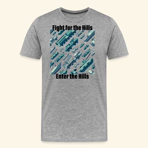 Fight or Enter - Men's Premium T-Shirt
