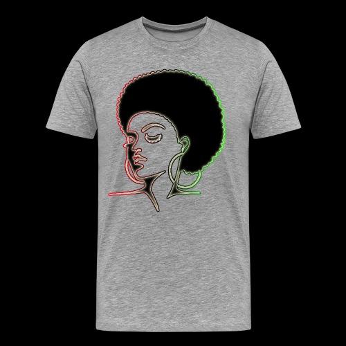 Afrolady - Men's Premium T-Shirt