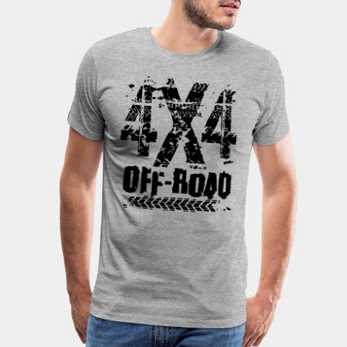 4x4 offroad adventure - Men's Premium T-Shirt