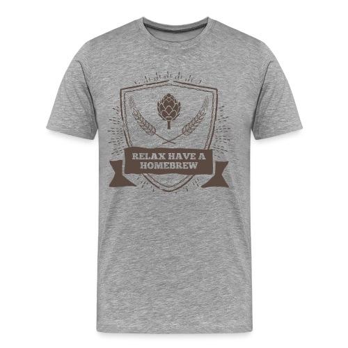 Relax have a Homebrew - Men's Premium T-Shirt