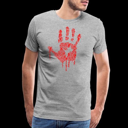 The Haunted Hand Of Zombies - Men's Premium T-Shirt