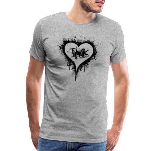 I Love Ink_black - Men's Premium T-Shirt