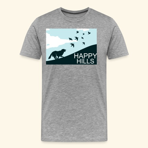 Happy hills - Men's Premium T-Shirt